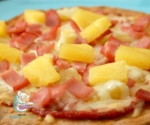 Receta de Pizza hawaiana