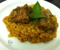 Arroz con costilla al curry