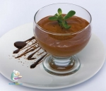 Receta de Mousse de chocolate al brandy