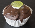 Muffins doble chocolate