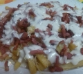 Bacon Cheese Fries Caseras